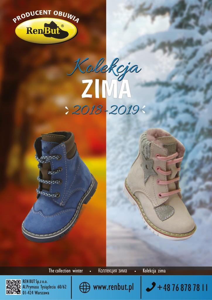 Renbut Zima 2018 2019 Tex Obuwie Dzieciece Hurtownia Dystrybutor Obuwia Dzieciecego Nazo Antylopa Befado Bartek Adanex Dawid Inblu Emel